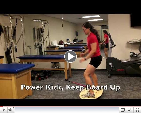 Increase Rotational Leg Power- For Kickboxing, Surf, Snow and Soccer Sports
