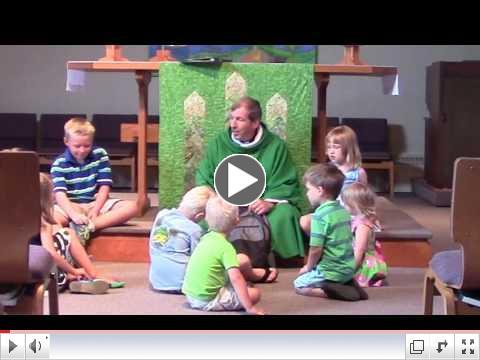 Children's Sermon: Sharing Backpacks