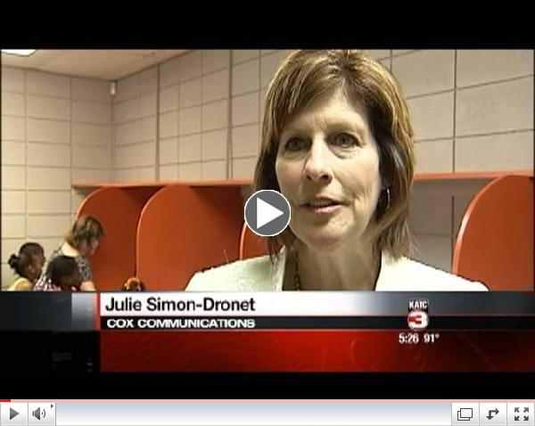 KATC Coverage of Boys & Girls Clubs of Acadiana New Technology Centers from Cox Communications