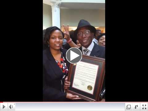 Bro.  McClendon & Councilwoman Brown Comment on the Historic Moment