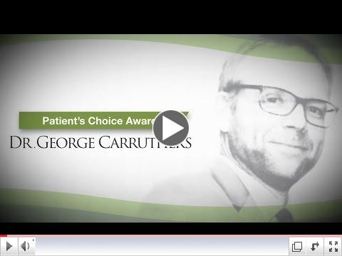 Patient's Choice Award - Dr. George Carruthers