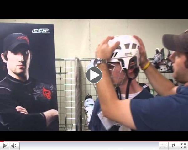 Fitting Hockey Helmets