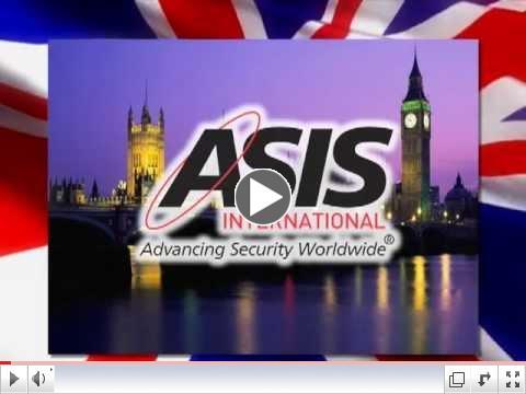 ASIS 2012 LONDON POSTCARD