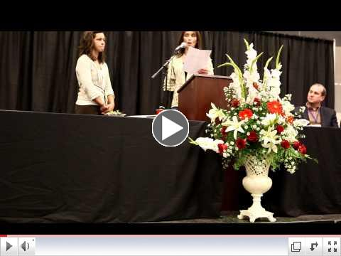 Wax Scholarship Presentation