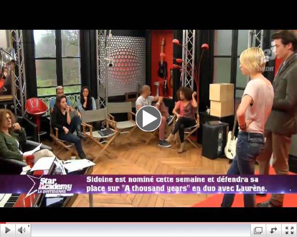Star Academy - Episode 40 Complet - 31/01/2013 Quotidienne (HD)