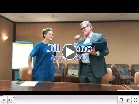 Jill Grano at Colorado Senior Lobby Board Meeting
