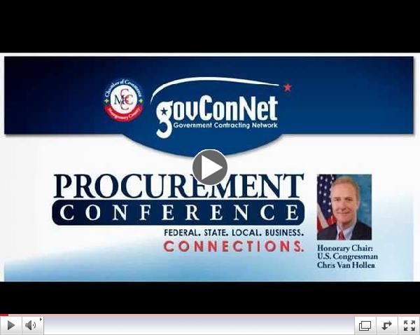 MCCC GovConNet Procurement Conference