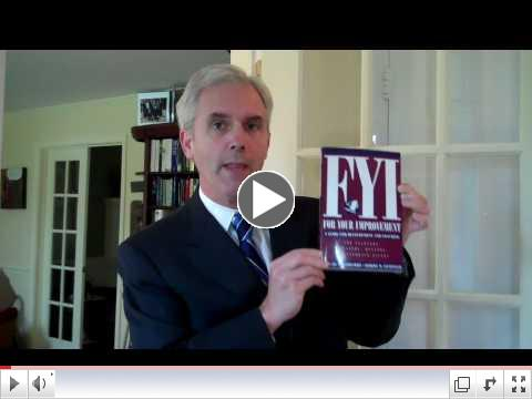 Video Book Club: FYI - For Your Improvement