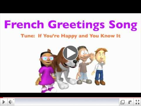 World languages 4 kids event schedule french greeting song m4hsunfo