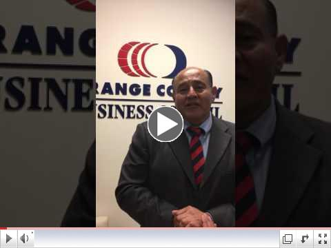 Congressman Correa in an OCBC One-Minute Video