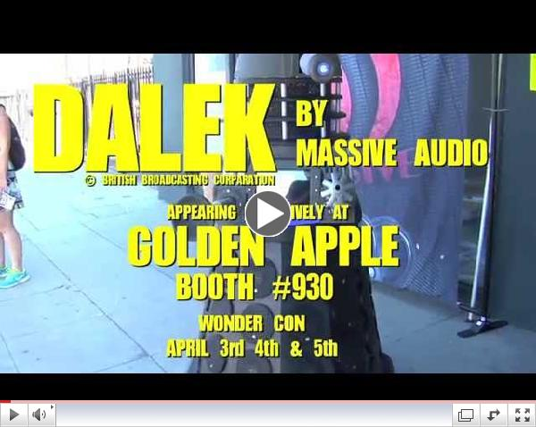 Golden Apple Wonder Con Commercial