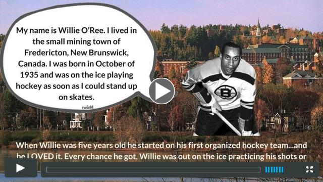 The Friends Academy Presents The Story of Willie O'Ree