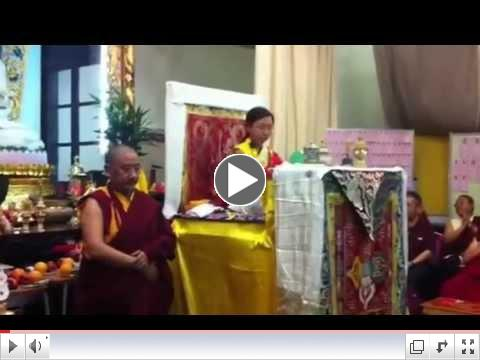 Amitayus-Hayagriva Long Life Initiation offered by H.E. Asanga Vajra Sakya (11/10/12)