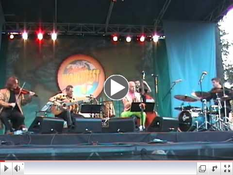 Doc Severinsen and the San Miguel 5 in a performance at California WorldFest in 2011.