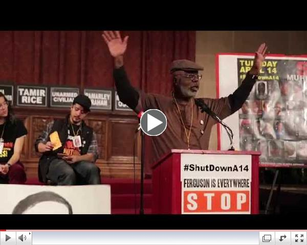 Carl Dix calls for national protest on 4/14/5
