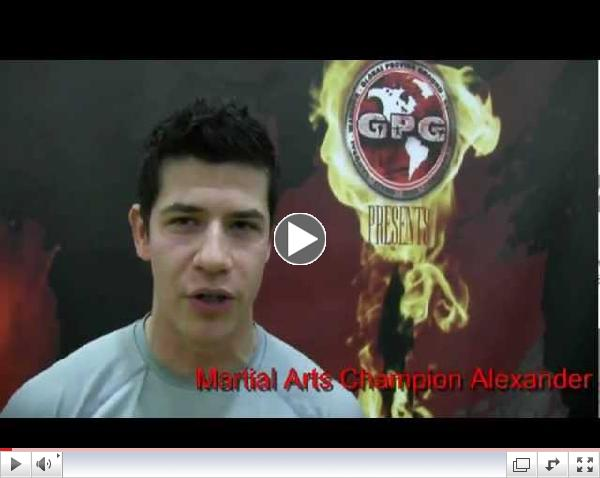 Alexander Walter Warrior Island Tryout Video for Global Proving Ground