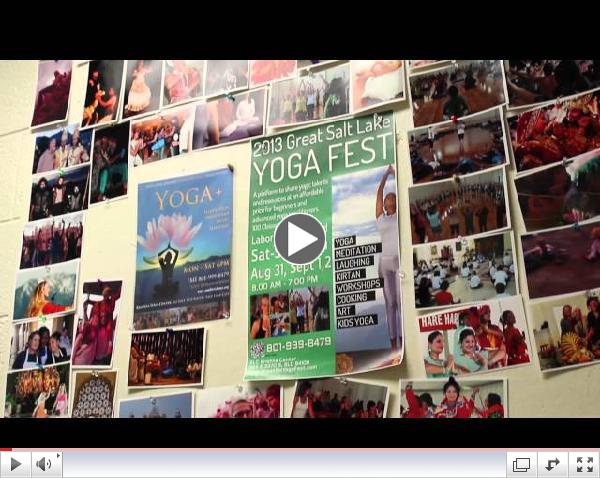 Great Salt Lake Yoga Fest 2013