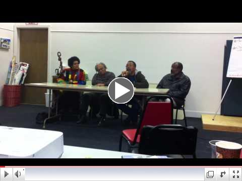 RPA Panel discussion of At The River I Stand