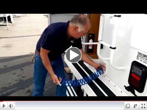 2016 Northstar Truck Camper Winterization at Truck Camper Warehouse