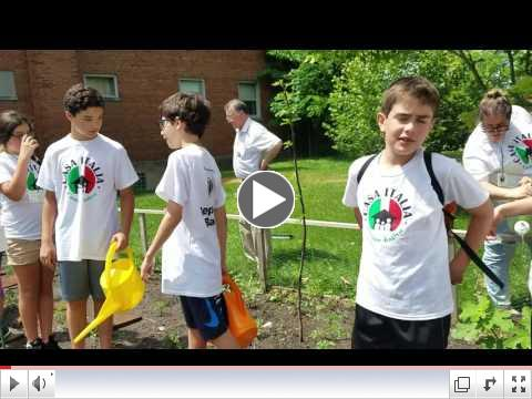 Casa Italia - Italian Language & Culture Summer Camp, Day 1, June 19, 2017 - Garden 4
