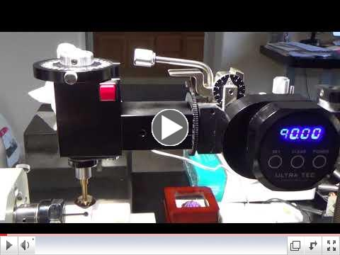 90 Degree Rotating Adapter for ULTRA TEC Faceting Masts - video by Larry Mattos