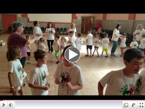 Casa Italia - Italian Language & Culture Summer Camp, Day 1, June 19, 2017 - Tarantella 1
