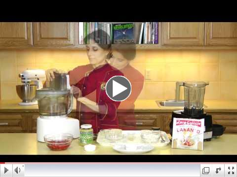 Hot Raw Chef Shortcake Demo