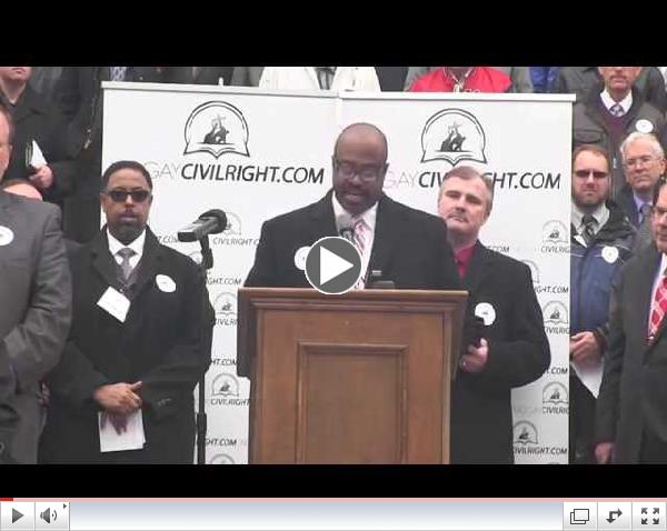 Pastors Against Amending Michigan's Elliott-Larson Act Press Conference Oct 22 2014