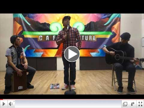 Videos from Cafe Cultura's 1/8/16 Open Mic