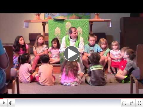 Children's Sermon: Making a Place Special