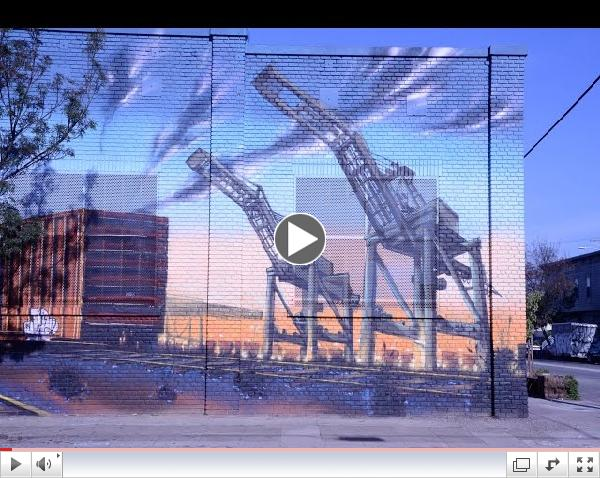Cool Cranes at the Port of Oakland