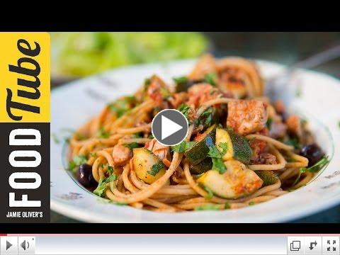 Healthy Pasta With Tuna & Veg | Bart's Fish Tales