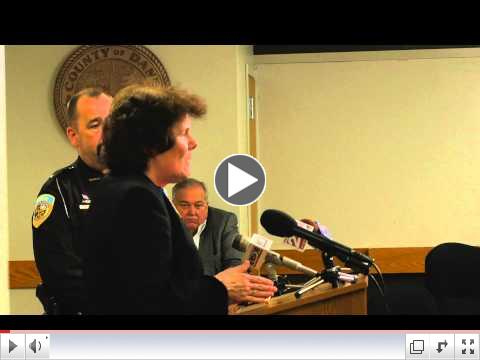 Watch the press conference for Dane County Jail-Based Job Center