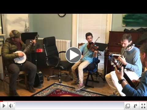 FRIDAY BLUEGRASS JAM with Maine Acoustic Festival Participants Jonny Cody, 11 (Fiddle) and Perrin Davidson