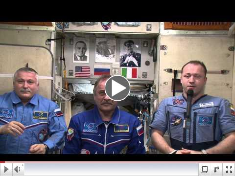 Greetings to U.S.-Russia Chamber of Commerce from the International Space Station Expedition 36 Crew