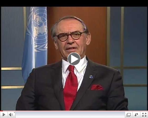 UN Deputy Secretary General Jan Eliasson Urges Attention to the Global Sanitation Crisis