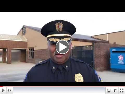 Meet With Chief Alonzo Thompson