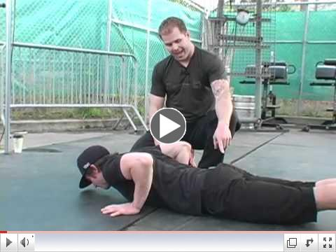 CrossFit - Kelly Starrett and Carl Paoli discuss the 2010 Games push-up