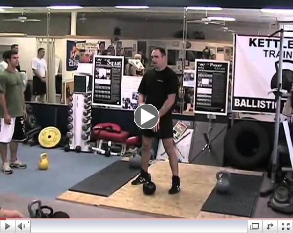 CrossFit - Kettlebell Snatch, Jeff Martone