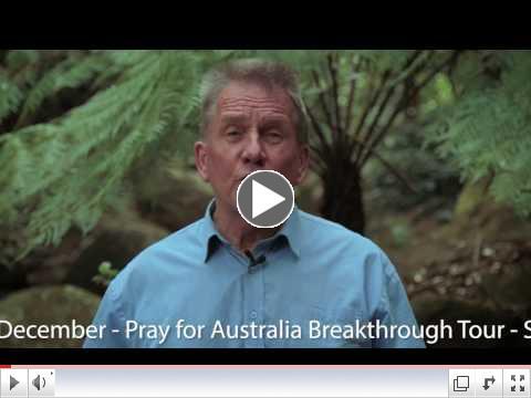 Pray for Australia Breakthrough Tour Promo 1:23 Secs