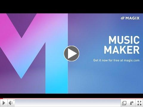 Программа для создания музыки magix music maker 16 premium скачать