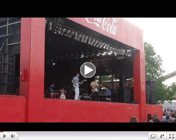 The Matthew Davidson Band Opening for Austin Mahone - Blue Bayou in Baton Rouge, Louisiana
