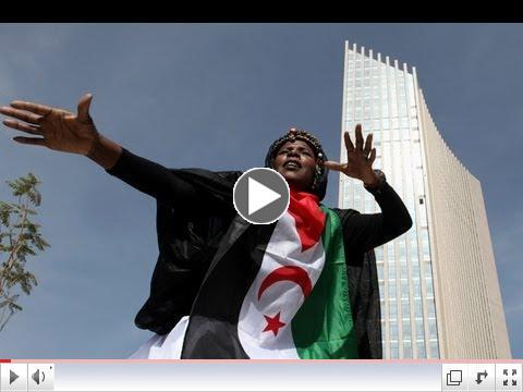 Gj�f K�nverja til Afr�ku - h�h�si� � Addis: h�fu�st��var Afr�kusambandsins.