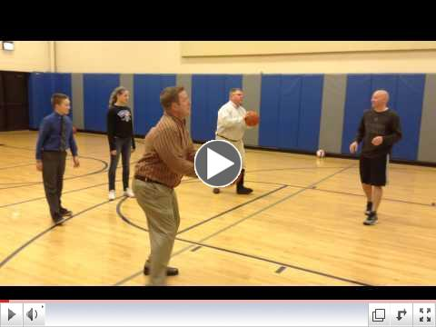 Practice Files: We're playing basketball!