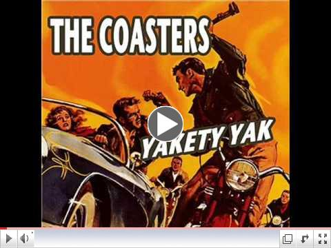 The Coasters- Yakety Yak (with lyrics)
