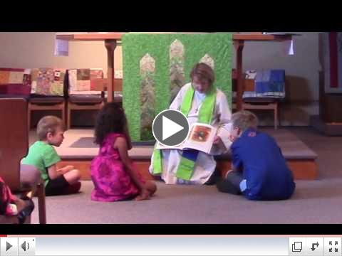 Children's Sermon: Three Hens and a Peacock