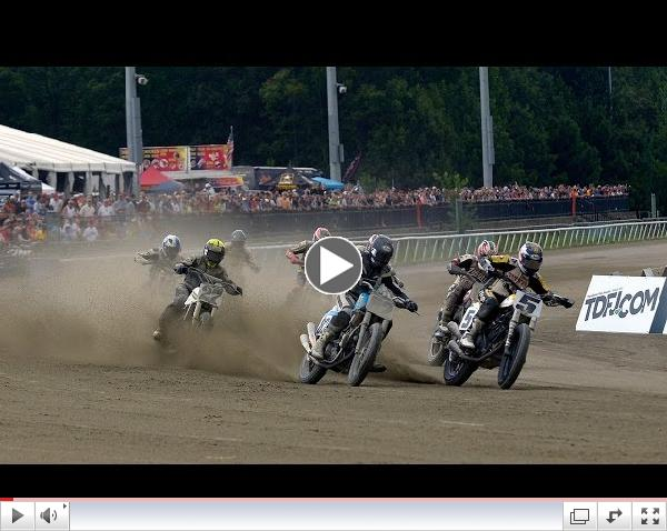 2014 Virginia Mega Mile Heat Races - AMA Pro Flat Track