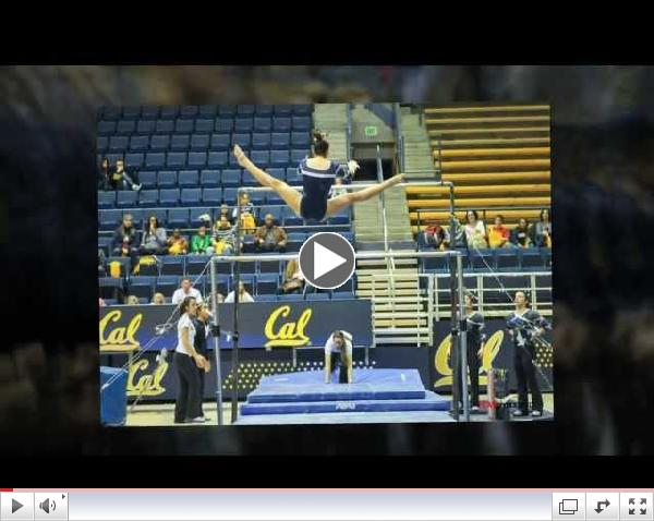Cal Women's Gymnasts compete with Utah, 01-17-2014.