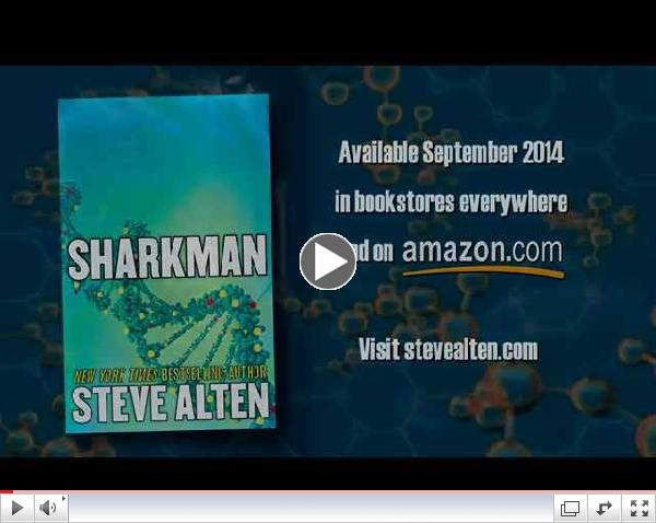 Sharkman Book Trailer - Steve Alten