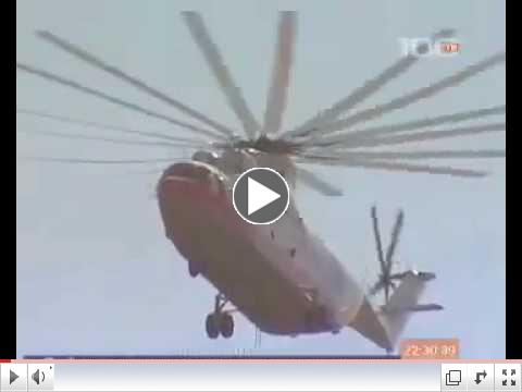 Mil-26 lifting a Tupolev Tu-134 airliner ( 27,960 kg )???